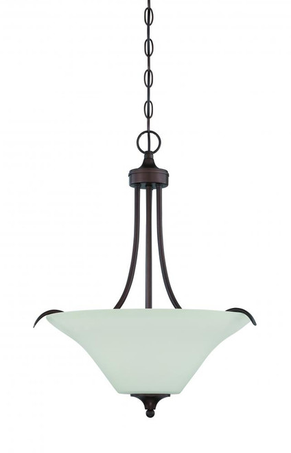 Darby 3 Light Black Pendant Light-F18057-64 by Sunset Lighting