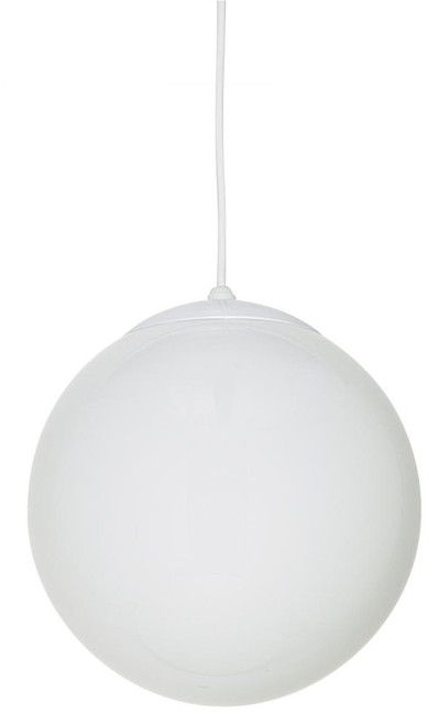 4 Light White Pendant Light-F3402-30 by Sunset Lighting