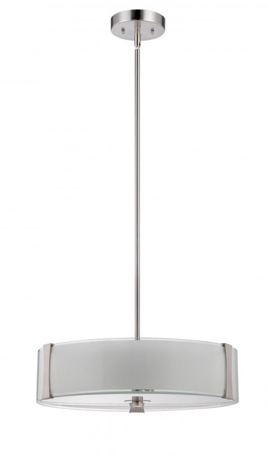 Stanton 3 Light Silver Pendant Light-F3515-80 by Sunset Lighting