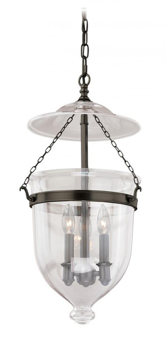 630 Series 3 Light Clear Pendant Light-P0120 by Vaxcel Lighting