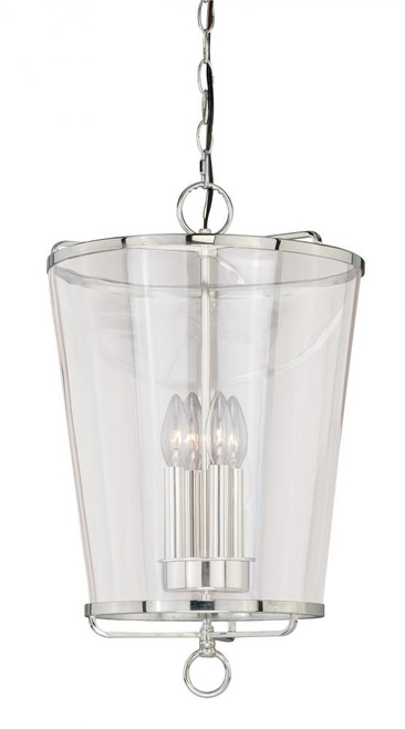 630 Series 4 Light Clear Pendant Light-P0115 by Vaxcel Lighting