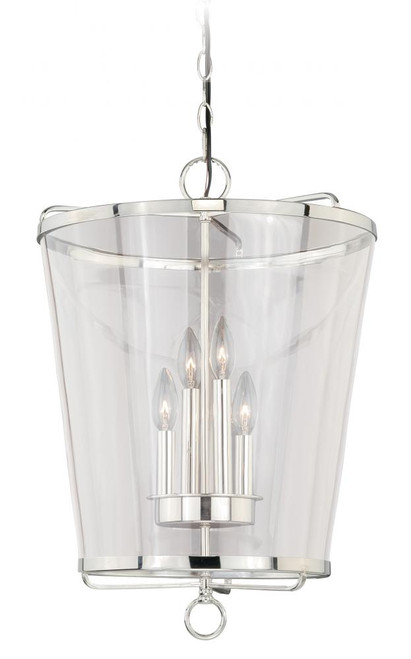 630 Series 4 Light Clear Pendant Light-P0117 by Vaxcel Lighting
