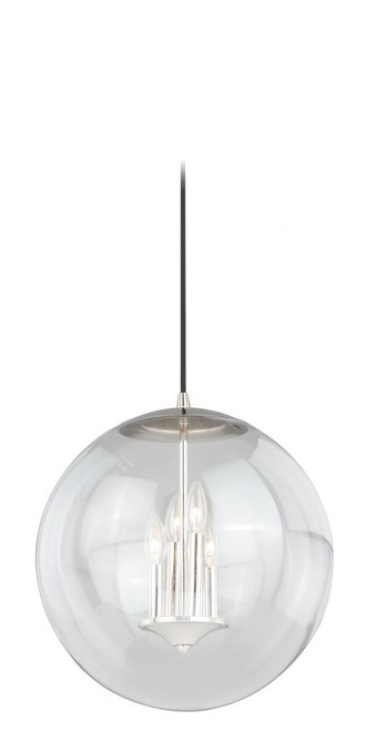 630 Series 4 Light Clear Pendant Light-P0124 by Vaxcel Lighting