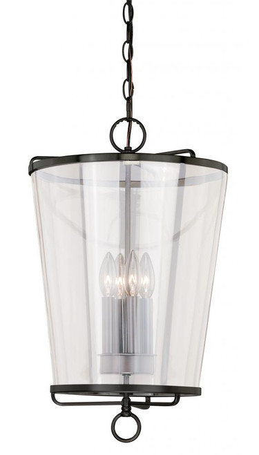 630 Series 4 Light Clear Pendant Light-P0116 by Vaxcel Lighting