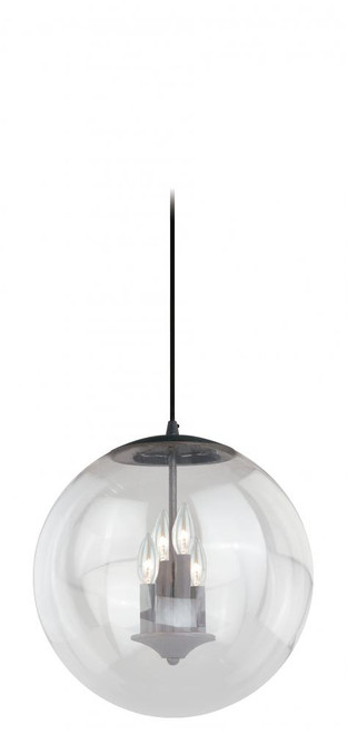 630 Series 4 Light Clear Pendant Light-P0126 by Vaxcel Lighting