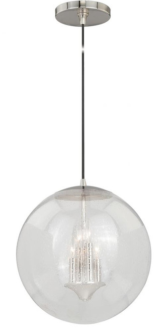 630 Series 4 Light Clear Pendant Light-P0121 by Vaxcel Lighting