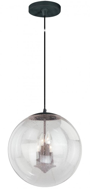 630 Series 4 Light Clear Pendant Light-P0123 by Vaxcel Lighting