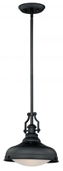 Keenan 1 Light Silver Pendant Light-P0194 by Vaxcel Lighting