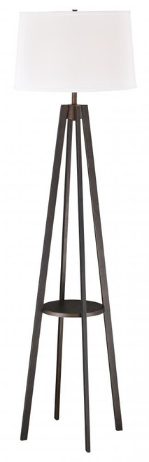 Perkins Sienna Bronze Floor Lamp-L0007 by Vaxcel