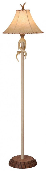 Lodge Brown Floor Lamp-FL33075NS by Vaxcel