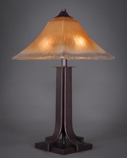Apollo Dark Granite Table Lamp-577-DG-650 by Toltec