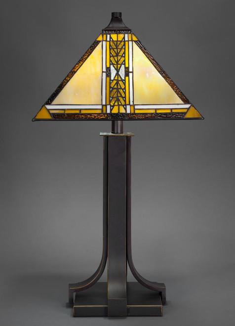 Apollo Dark Granite Table Lamp-577-DG-9867 by Toltec