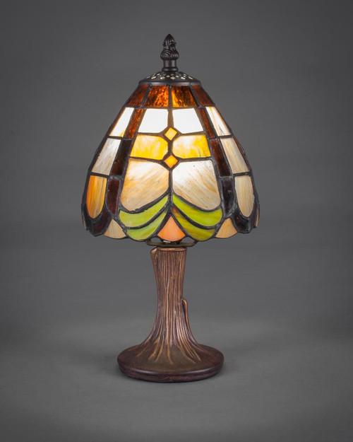 Dark Granite Table Lamp-55-DG-9877 by Toltec