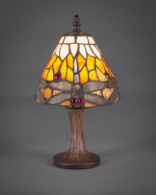 Dark Granite Table Lamp-55-DG-9467 by Toltec