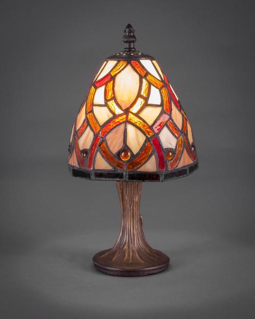 Dark Granite Table Lamp-55-DG-9917 by Toltec