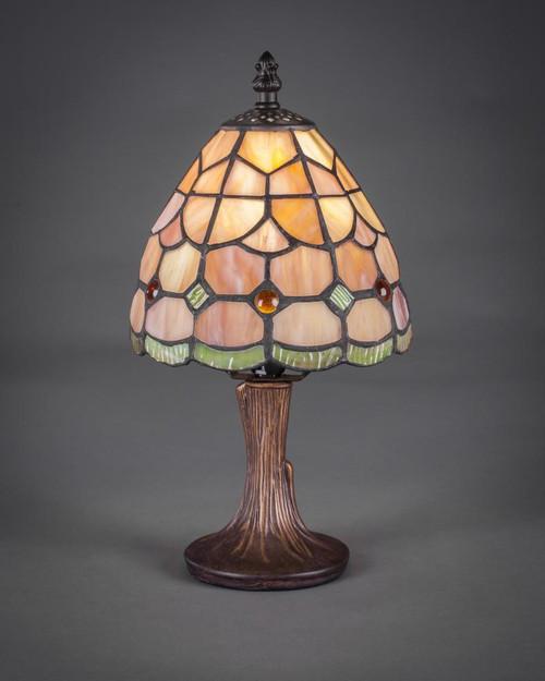 Dark Granite Table Lamp-55-DG-9887 by Toltec