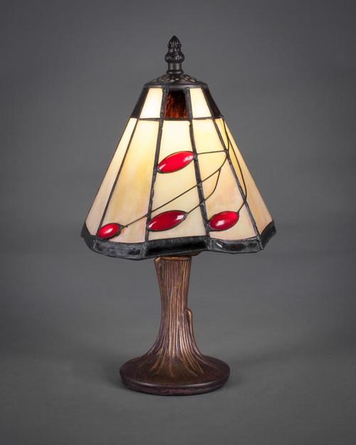 Dark Granite Table Lamp-55-DG-9267 by Toltec