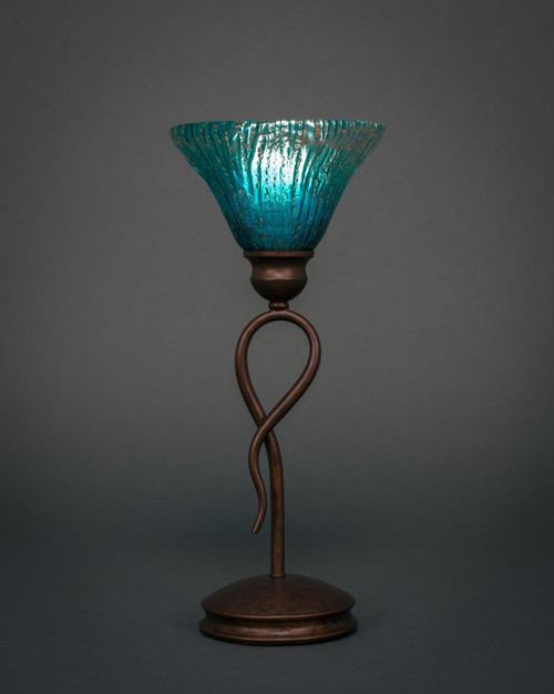 Leaf Bronze Table Lamp-35-BRZ-458 by Toltec