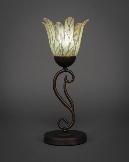 Olde Iron Bronze Table Lamp-44-BRZ-1025 by Toltec