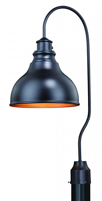 Delano 11 Inch Post Light-T0318 by Vaxcel