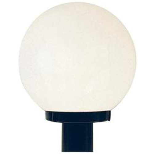 One Light Black Minipendant With White Acrylic Glass-F9152-31 by Sunset