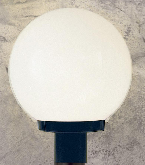 One Light Black Minipendant With White Acrylic Glass-F9150-31 by Sunset