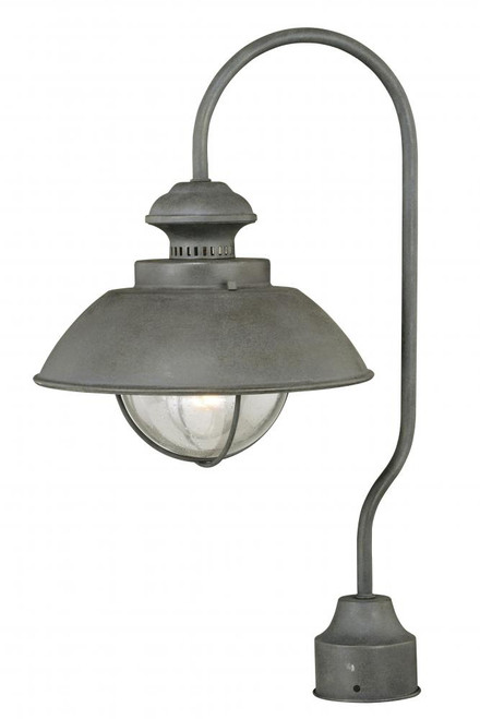 Harwich Outdoor Post Light Textured Gray-T0266 by Vaxcel