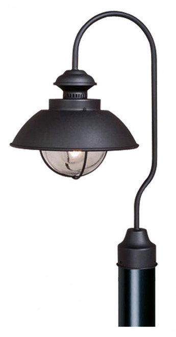 Harwich 10 Inch Outdoor Post Light Textured Black-OP21505TB by Vaxcel