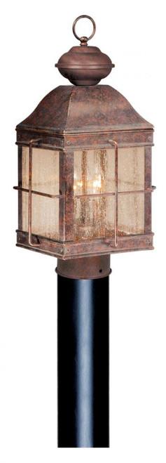 Revere 10 Inch Outdoor Post Light-OP39595RBZ by Vaxcel