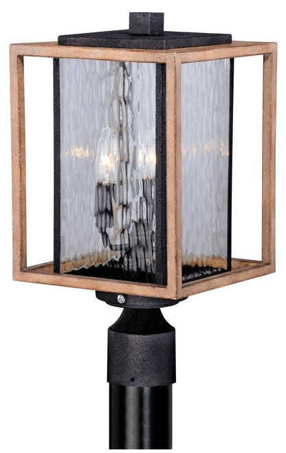 Modoc 9 Inch Outdoor Post Light-T0240 by Vaxcel