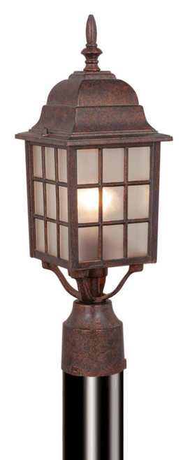 Vista 6 Inch Outdoor Post Light Royal Bronze-OP36765RBZ by Vaxcel