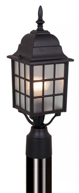 Vista 6 Inch Outdoor Post Light Textured Black-OP36765TB by Vaxcel