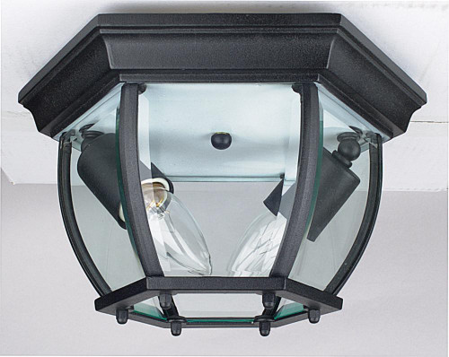 Curve Black Outdoor Pendant Light-F7898-31 by Sunset Lighting