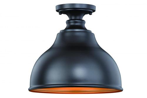 Delano Bronze Outdoor Pendant Light-T0315 by Vaxcel Lighting