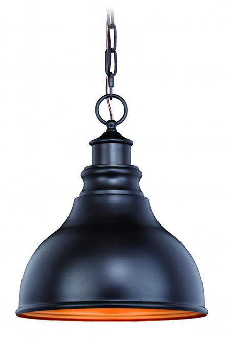 Delano Bronze Outdoor Pendant Light-T0317 by Vaxcel Lighting