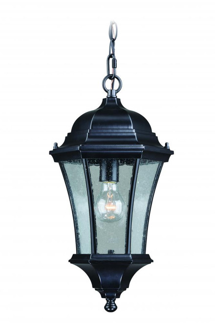 Aberdeen Black Outdoor Pendant Light-T0303 by Vaxcel Lighting