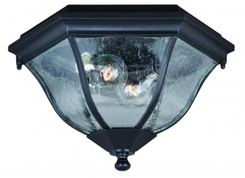Aberdeen Black Outdoor Pendant Light-T0305 by Vaxcel Lighting