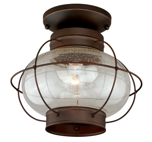 Chatham Burnished Bronze Outdoor Pendant Light-T0145 by Vaxcel Lighting