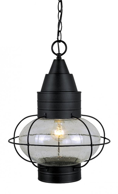 Chatham Textured Black Outdoor Pendant Light-OD21836TB by Vaxcel Lighting