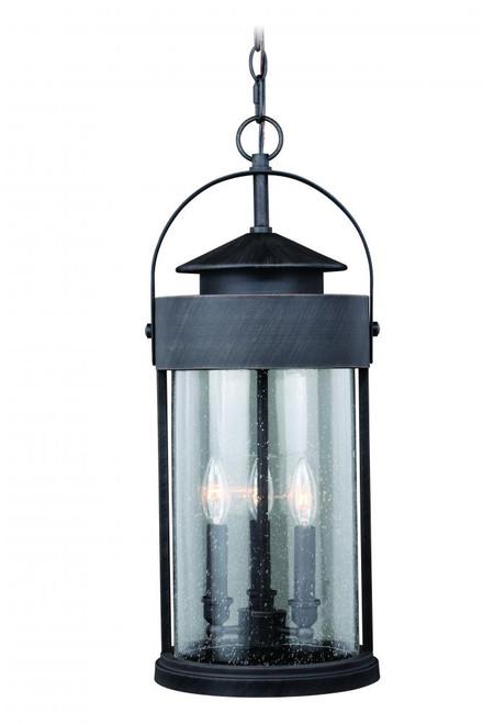 Cumberland Rust Outdoor Pendant Light-T0288 by Vaxcel Lighting