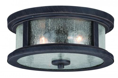 Cumberland Rust Outdoor Pendant Light-T0290 by Vaxcel Lighting