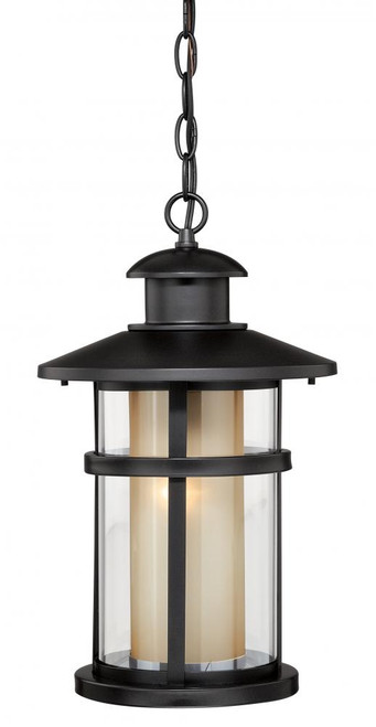 Cadiz Oil Burnished Bronze Outdoor Pendant Light-T0138 by Vaxcel Lighting