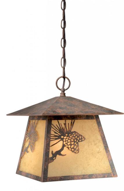 Whitebark Bronze Outdoor Pendant Light-OD50546OA by Vaxcel Lighting
