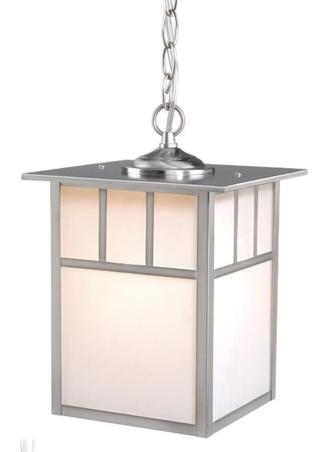 Mission Stainless Steel Outdoor Pendant Light-OD14696ST by Vaxcel Lighting