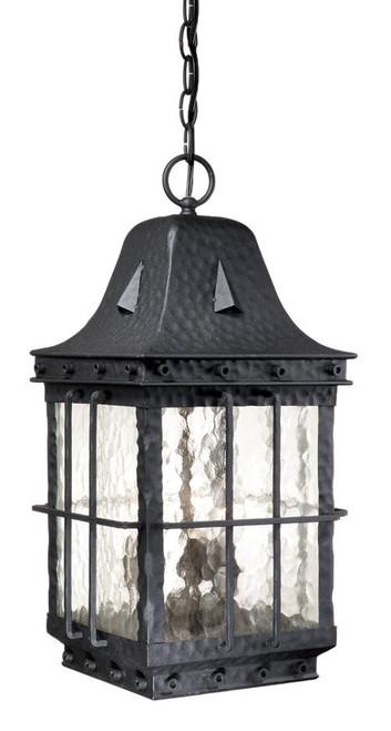 Edinburgh Textured Black Outdoor Pendant Light-ED-ODD090TB by Vaxcel Lighting