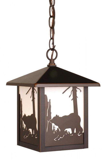 Bozeman Burnished Bronze Outdoor Pendant Light-OD35086BBZ by Vaxcel Lighting
