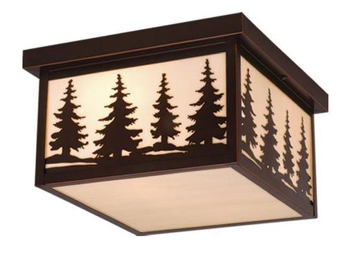 Yosemite Burnished Bronze Outdoor Pendant Light-OF33412BBZ by Vaxcel Lighting
