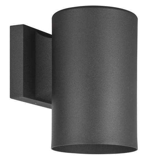 1 Light 5 Inch Round Aluminum Wall Sconce-F6901-31 by Sunset Lighting