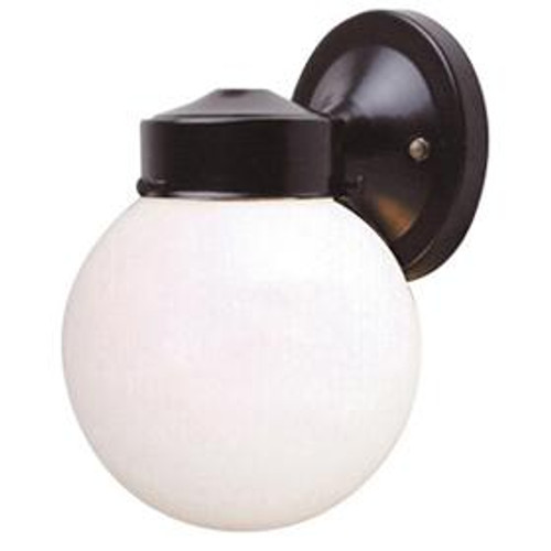 Porch Black Outdoor Wall Light-F4601-31 by Sunset Lighting