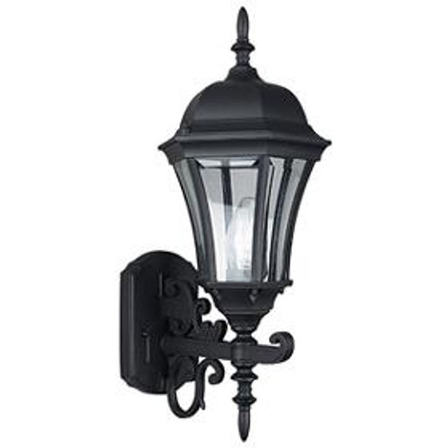 Violet Rubbed Bronze Outdoor Wall Light-F7857-62 by Sunset Lighting